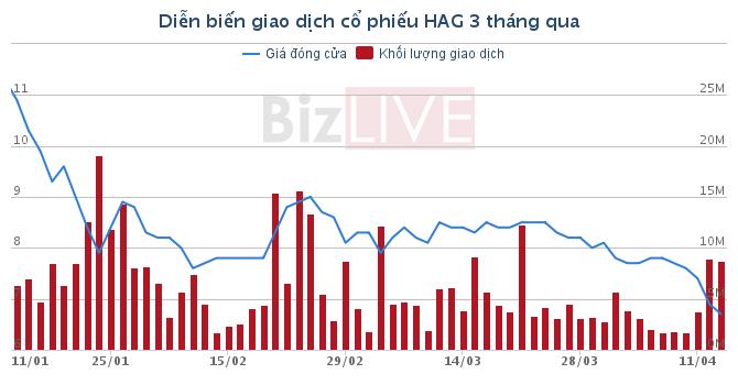 """Liệu có """"làn sóng"""" giải chấp HAG, HNG từ các ngân hàng?"""