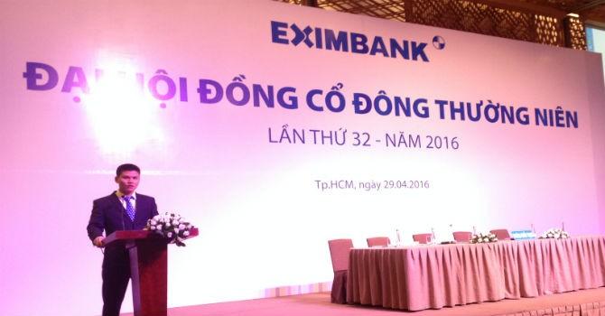 ĐHĐCĐ Eximbank bất thành vì 2 nhóm cổ đông lớn không tham dự