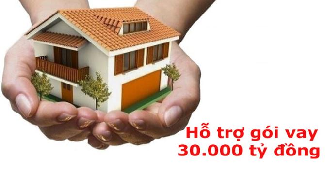 HoREA: Gói 30.000 tỷ đồng nên giải ngân vượt mức là 35.000 tỷ đồng