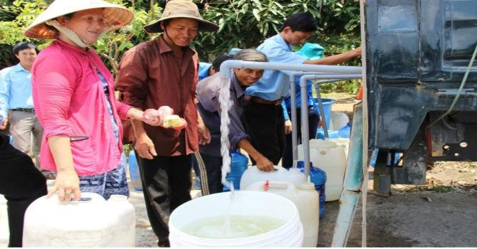 Hoa Kỳ viện trợ thêm 500.000 USD cho 22 tỉnh, thành phố Việt Nam bị hạn hán và xâm nhập mặn
