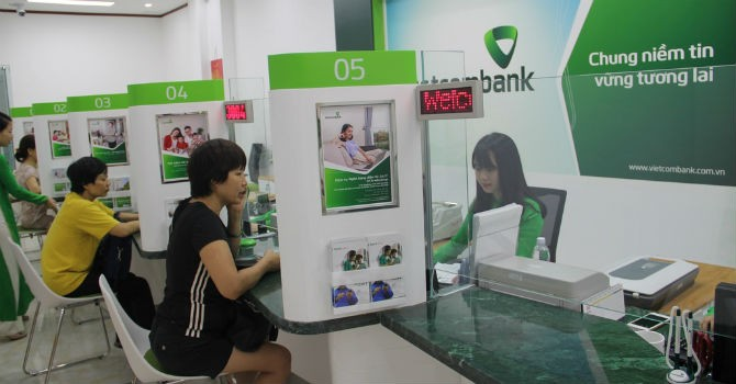 Vietcombank lãi 4.193 tỷ đồng, tăng trưởng tín dụng trên 10%