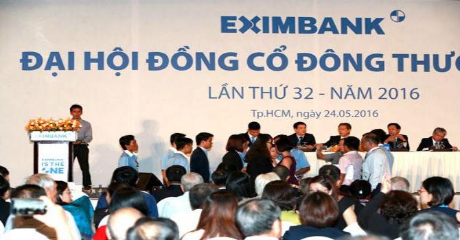 Eximbank: Vẫn rối nhân sự trước đại hội cổ đông