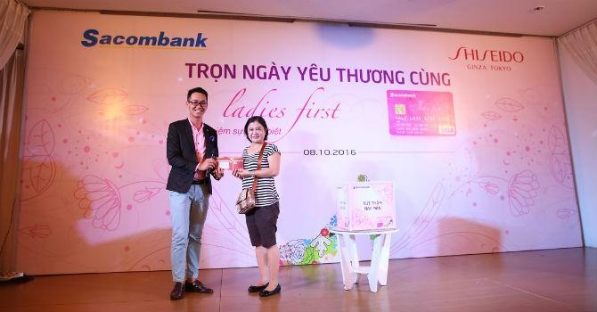 Ngày 20/10: Tìm Ladies First cùng Sacombank