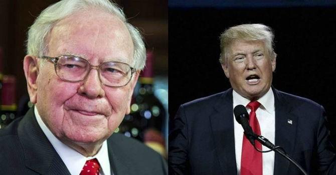 """Warren Buffet: """"Ai nói thị trường chứng khoán lao dốc sau khi Trump thắng cử là ngu ngốc!"""""""