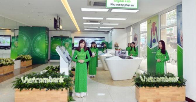 Vietcombank báo lãi 5.054 tỷ đồng 6 tháng đầu năm 2017