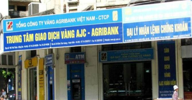 Tổng công ty vàng Agribank lãi ròng vỏn vẹn 1,3 tỷ đồng trong 6 tháng