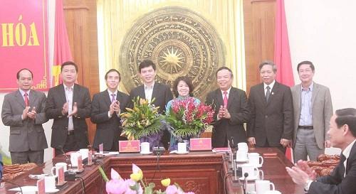 Thứ trưởng Bộ Nông nghiệp về làm Phó bí thư Thanh Hóa