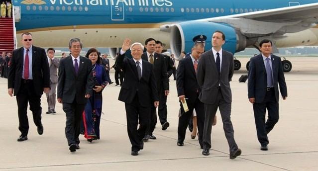 Tổng bí thư Nguyễn Phú Trọng: Mỹ là đối tác quan trọng của Việt Nam
