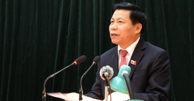 Ông Nguyễn Nhân Chiến tiếp tục làm Bí thư tỉnh Bắc Ninh