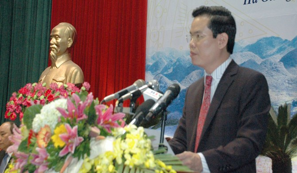 Ông Triệu Tài Vinh tái đắc cử Bí thư tỉnh Hà Giang