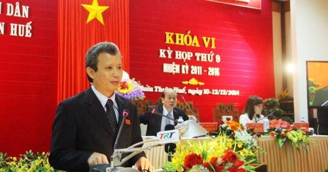 Ông Lê Trường Lưu làm Bí thư tỉnh Thừa Thiên - Huế