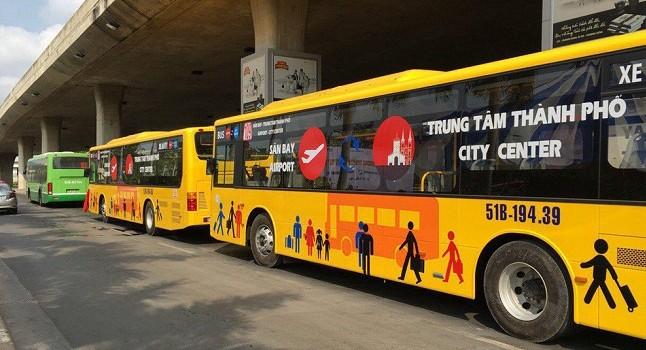 Sắp có xe bus không trợ giá tuyến trung tâm Hà Nội - sân bay Nội Bài