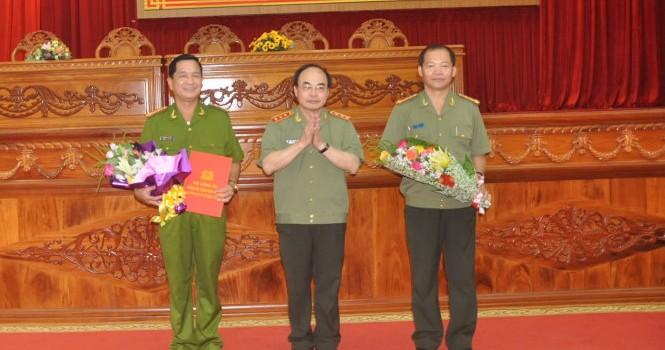 Bộ Công an tiếp tục điều chuyển, bổ nhiệm nhân sự mới