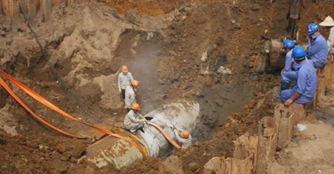 Dự án ống nước sông Đà: Phó thủ tướng đồng ý dừng ký với nhà thầu Trung Quốc