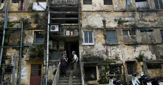 Hà Nội cho phép các khu tập thể cũ xây cao tới 25 tầng