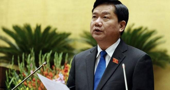 Ông Đinh La Thăng thôi giữ chức Bộ trưởng Bộ Giao thông vận tải