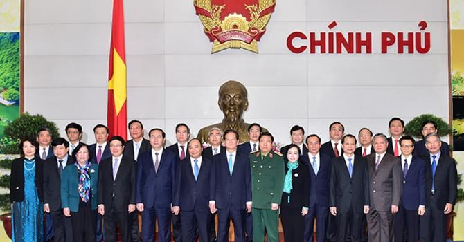 19 thành viên của Chính phủ sắp miễn nhiệm là những ai?
