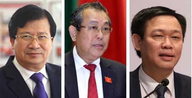 Trình nhân sự 3 Phó thủ tướng, 18 bộ trưởng mới