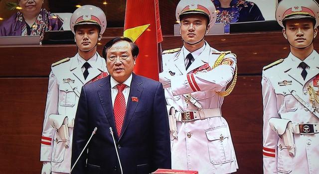 Tân Chánh án Tòa án Nhân dân Tối cao tuyên thệ nhậm chức
