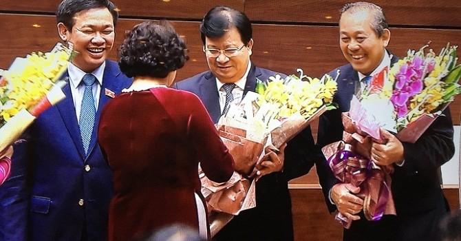 Tiểu sử 3 tân Phó thủ tướng Chính phủ