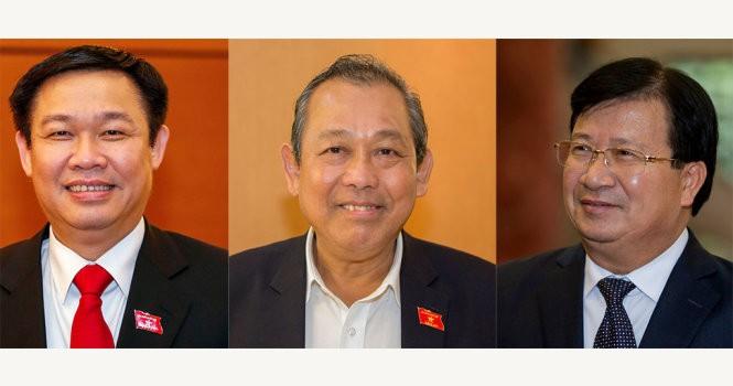 Quốc hội phê chuẩn bổ nhiệm 3 Phó thủ tướng, 18 bộ trưởng mới