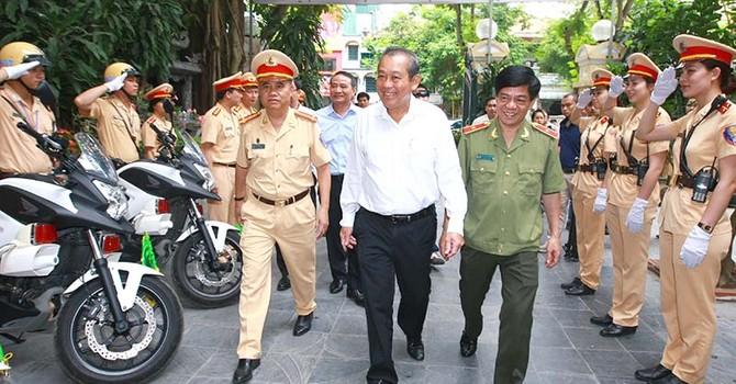 Phó thủ tướng: Bảo vệ tuyệt đối an toàn bầu cử, không để xảy ra bị động bất ngờ
