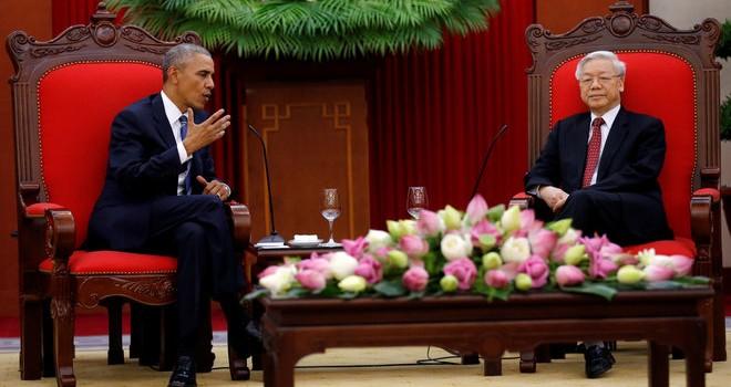 Tổng thống Mỹ Obama: Sẽ làm mọi việc để thúc đẩy hợp tác với Việt Nam