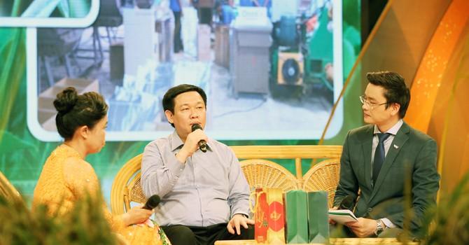 Phó thủ tướng Vương Đình Huệ: Có gà đi bộ, vịt giời... Việt Nam không sợ cạnh tranh!