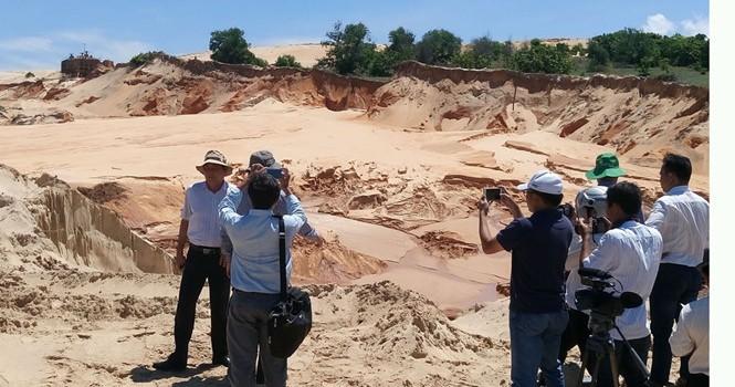 Vụ vỡ hồ chứa nước mỏ titan: Phát hiện nhiều sai phạm của công ty Tân Quang Cường