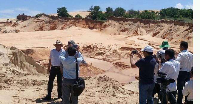 Đình chỉ hoạt động khai thác quặng của Công ty Tân Quang Cường