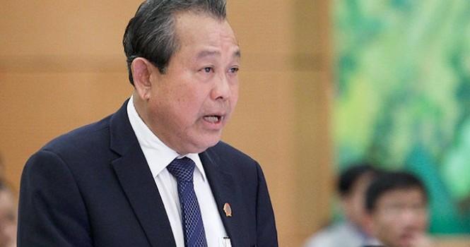 Phó thủ tướng: Thanh tra việc cấp phép Formosa, xử lý nghiêm nếu có tiêu cực!