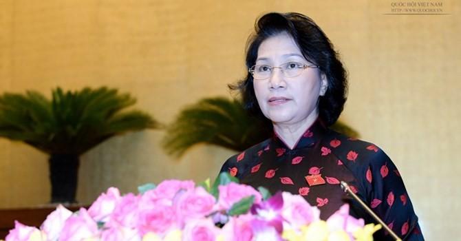 Hôm nay bỏ phiếu kín bầu Chủ tịch Quốc hội khoá mới