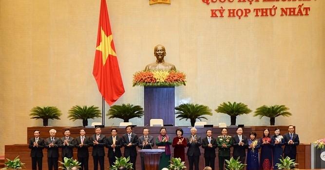 Ra mắt lãnh đạo mới các cơ quan của Quốc hội khoá 14