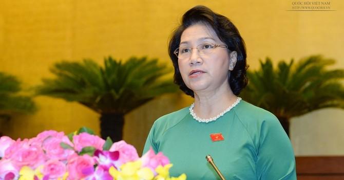 Bà Nguyễn Thị Kim Ngân tiếp tục làm Chủ tịch Quốc hội khóa 14