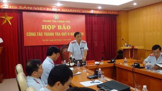 """Thanh tra Chính phủ nói gì về việc """"đồng ý"""" khen thưởng PVC?"""