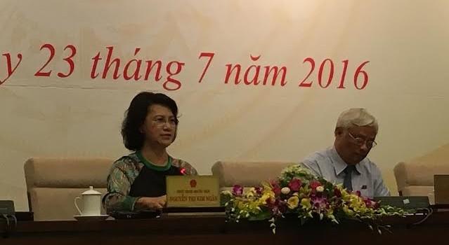 Chủ tịch Quốc hội: Tôi sẽ nhắc ông Võ Kim Cự không  né báo chí!