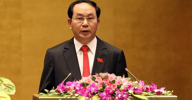 Ông Trần Đại Quang tái đắc cử chức vụ Chủ tịch nước
