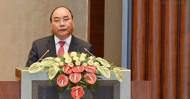 Thủ tướng trình Quốc hội cơ cấu số lượng thành viên Chính phủ