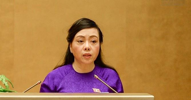 Bà Nguyễn Thị Kim Tiến nhận 462/487 phiếu đồng ý làm Bộ trưởng Y tế