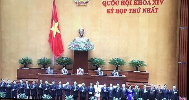Danh sách 26 thành viên Chính phủ vừa được Quốc hội phê chuẩn