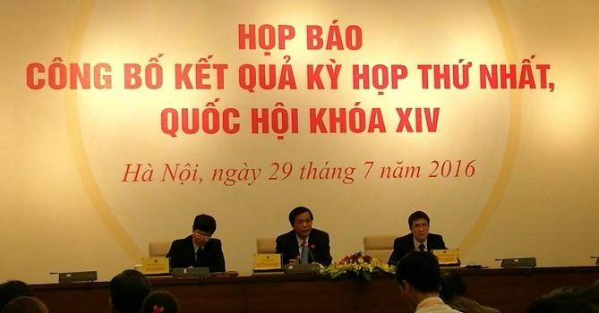 """Ông Nguyễn Hạnh Phúc: """"Tôi chưa thỏa mãn với trả lời của Bộ trưởng Hà về Formosa"""""""