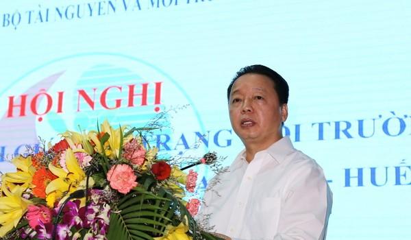 """Bộ trưởng Trần Hồng Hà: """"Miền Trung sẽ có cả thép, cá và môi trường biển sạch"""""""
