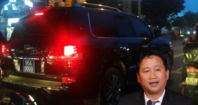 """Trịnh Xuân Thanh: """"Ngã ngựa"""" vì thích xài Lexus biển xanh?"""