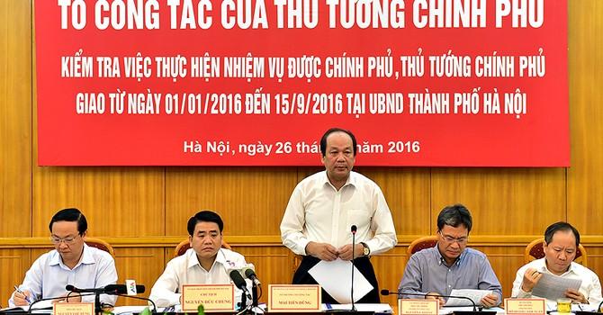 """""""Thủ tướng nhắc Hà Nội cắt cỏ tỉa cây, không để đô thị nhếch nhác"""""""