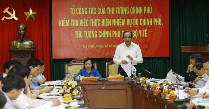 Thủ tướng nhắc nhở Bộ Y tế vụ 40.000 thùng nước giải khát nhiễm chì