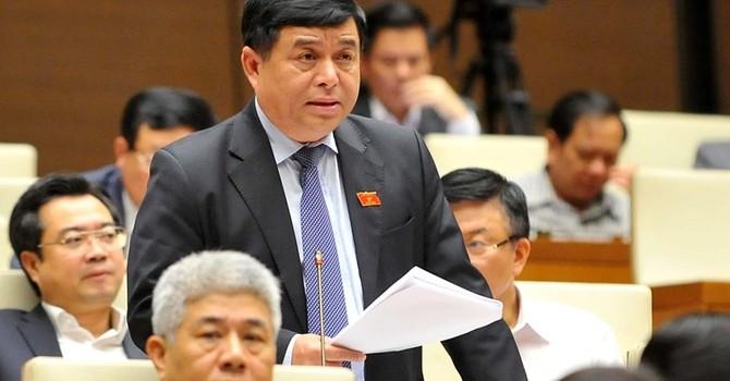 Bộ trưởng Nguyễn Chí Dũng giải trình về 480 tỷ USD tái cơ cấu kinh tế