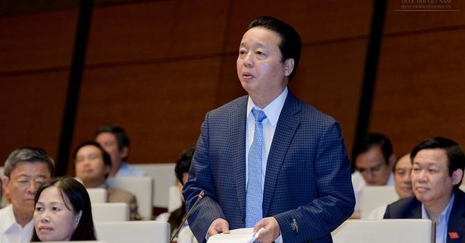 Bộ trưởng Trần Hồng Hà: Không né tránh, che đậy trách nhiệm vụ Formosa