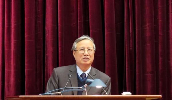 Chủ nhiệm Uỷ ban Kiểm tra Trung ương nói về việc kỷ luật ông Vũ Huy Hoàng