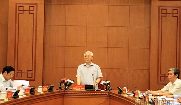Tổng bí thư: Mở rộng điều tra vụ án PVC, tập trung truy bắt Trịnh Xuân Thanh