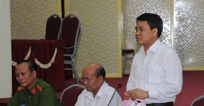 Chủ tịch Hà Nội: Chúng tôi sẵn sàng tiếp tục đối thoại với bà con Đồng Tâm